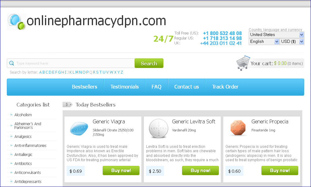 Online pharmacy no prescription viagra